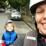 Our Back to School Commute by E-Bike