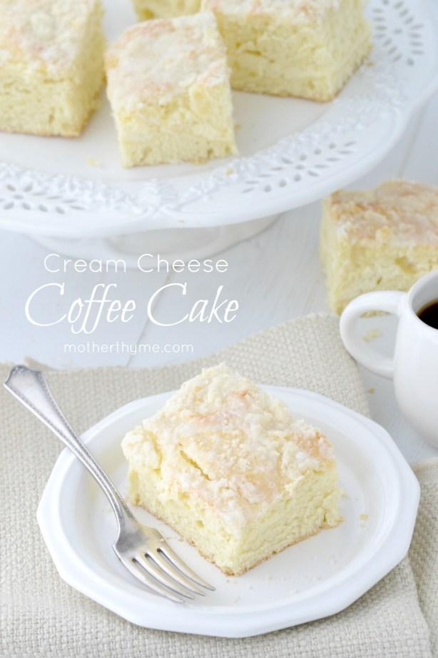 Cream Cheese Coffee Cake - www.motherthyme.com