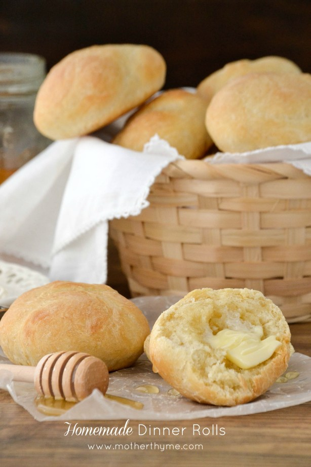 homemade dinner rolls