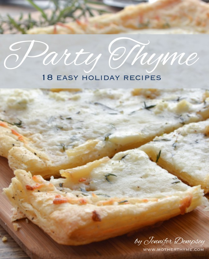 Party Thyme free eBook from www.motherthyme.com