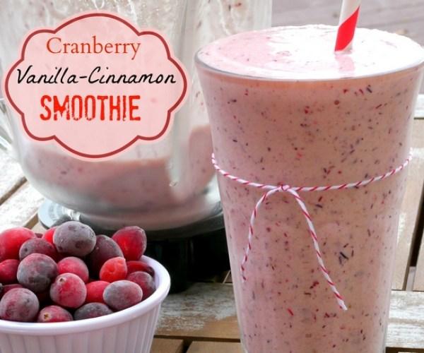 Cranberry Vanilla Berry Smoothie