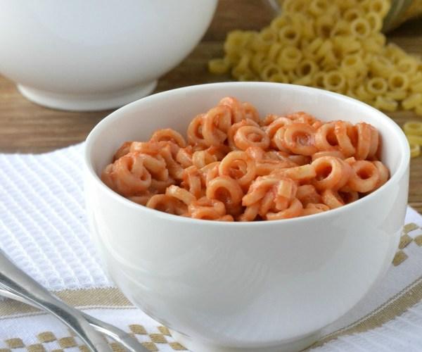 Homemade Spaghetti O