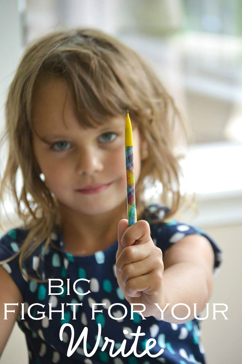 BIC® Fight For Your Write