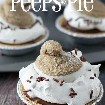 Hot Cocoa PEEPS® Pie