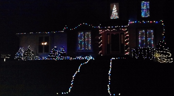 2013 Holiday Lights 1st Place