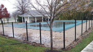 2015 Pool Fence Replacement