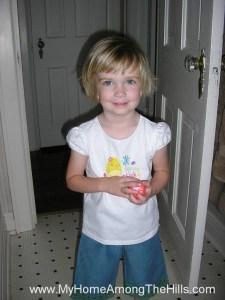 Abigail at 4