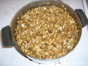 Boiling Sunflower Seeds