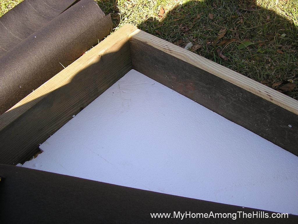 how to make a solar furnace at home