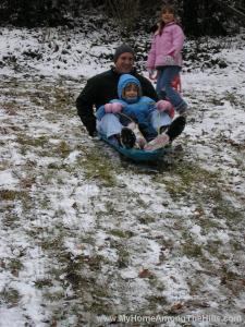 sled riding