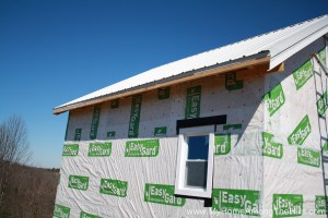 Before soffit and fascia