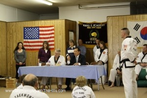 Quizzed for black belt test