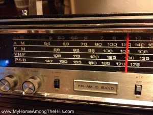 Tuner on Aircastle shortwave radio