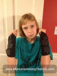 Broken wrists