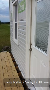 A new door!