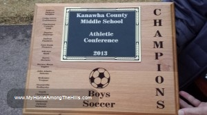 Boys soccer champs!