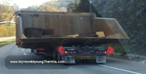 Really big coal truck!