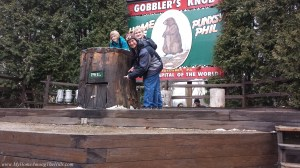 Phil's den at Gobbler's Knob