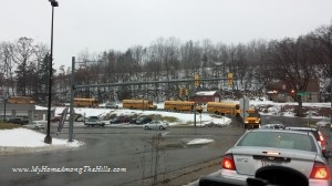 Just a few buses from Gobbler's Knob