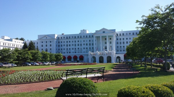 Front of the Greenbrier
