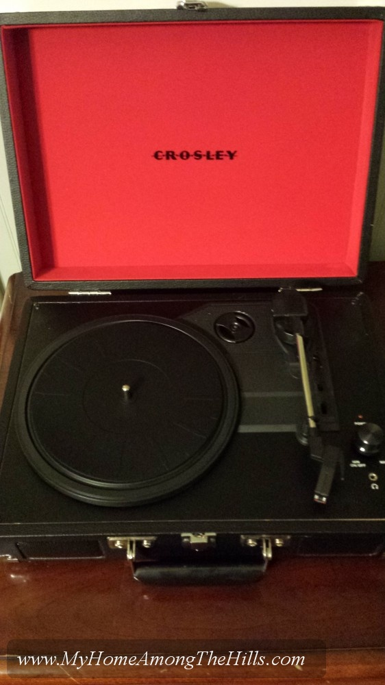 My new Crosley Cruiser record player