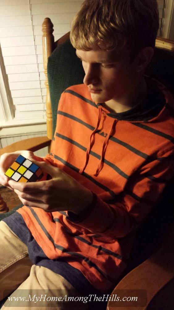 Working a Rubik's Cube