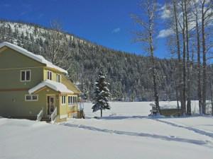 A cabin on Tyaughton