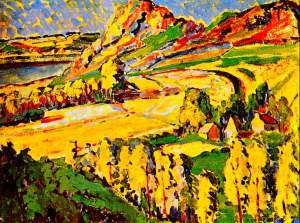 Emily Carr ~ Autumn in France, 1911