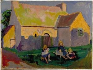 Emily Carr ~ Breton Church, 1906.