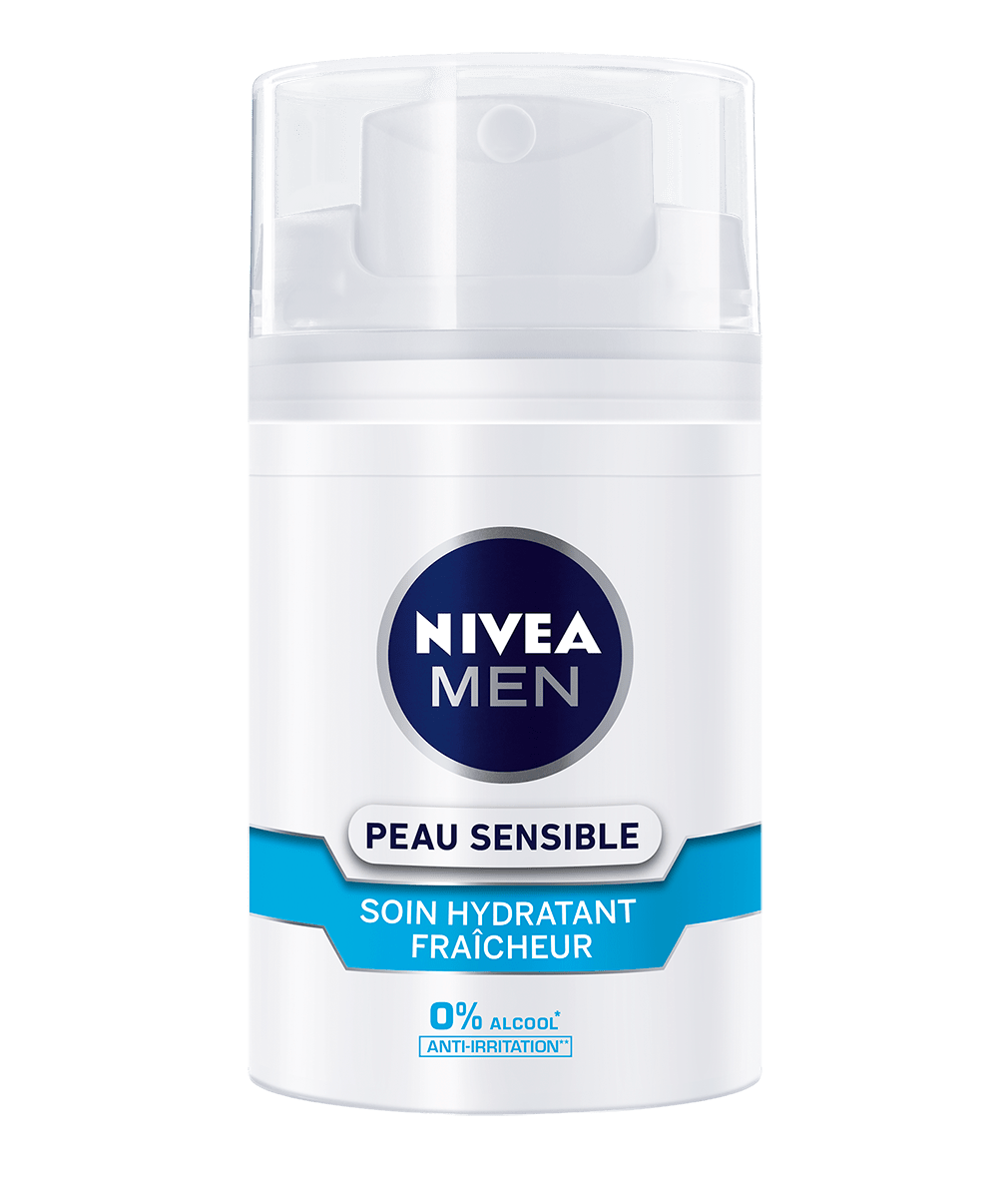 SOIN HYDRATANT FRAICHEUR PEAU SENSIBLE NIVEA MEN