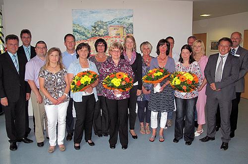 16 Mitarbeiter der Neckar Odenwald Kliniken geehrt
