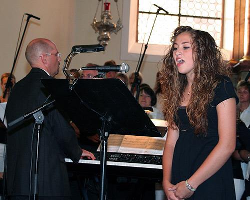 Solistin und Dirigent