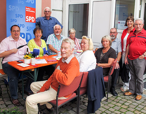 Sommerfest SPD Binau