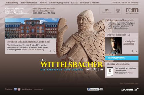 Screenshot Wittelsbacher 2013