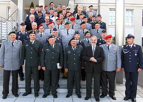 500 Reservisten besuchten die Bundeshauptstadt