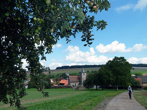 Auf dem Hochplateau Neudorfer Hoehe Foto S Herbener