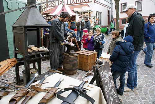 Kunsthandwerkermarkt in Mosbach