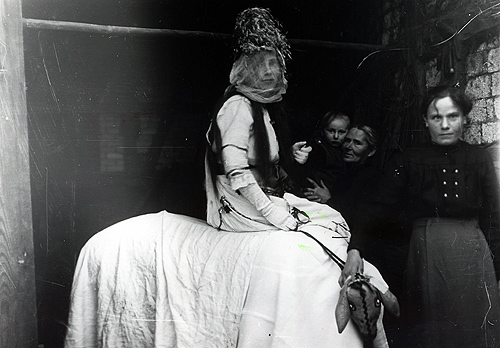 500 Christkind Schlossau 1919 Esel