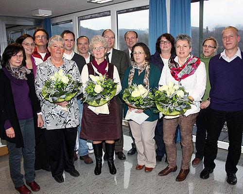 500 Klinik Eberbach Jubilaeum Abschied Gruppe