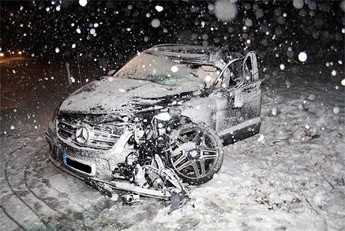 Unfall Hohenlohe