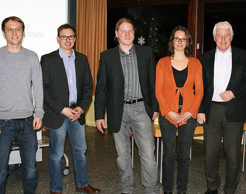 Die Initiatoren gaben den Startschuss für die Ausweitung des Jugenfarm-Projekts