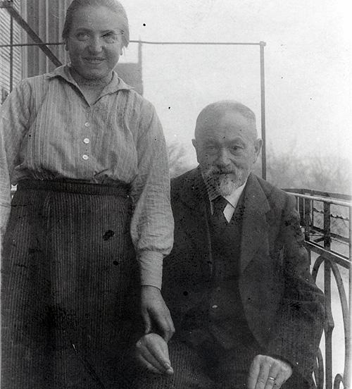 Leopold Blum mit Laura Ihrig