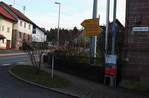 Ernsttaler Strasse wird ausgebaut