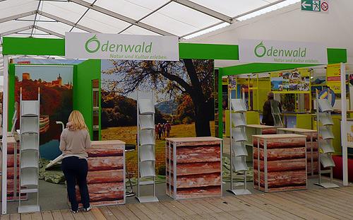 Odenwaldstand auf dem Maimarkt