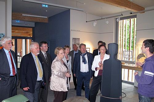 Kressl zu Besuch in Neckar Odenwald Kreis