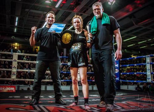 Kickboxerin Christin Weimer