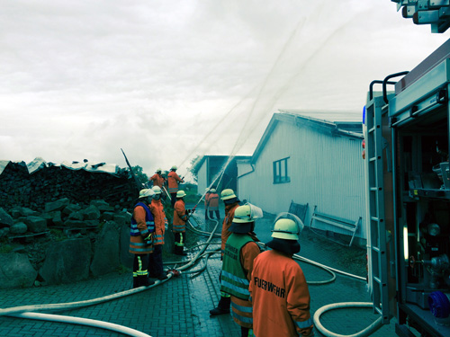 Feuerwehruebung Schlossau