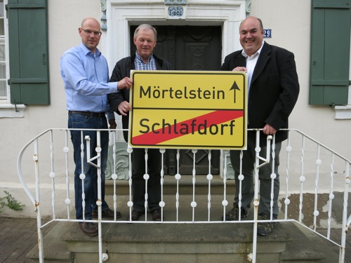 Schlafdorf Moertelstein nein Danke