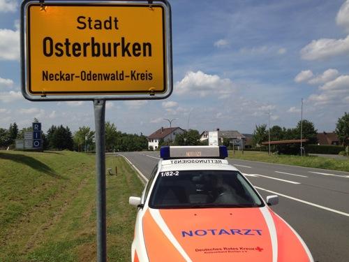 PM Notarzt Osterburken Juli2014