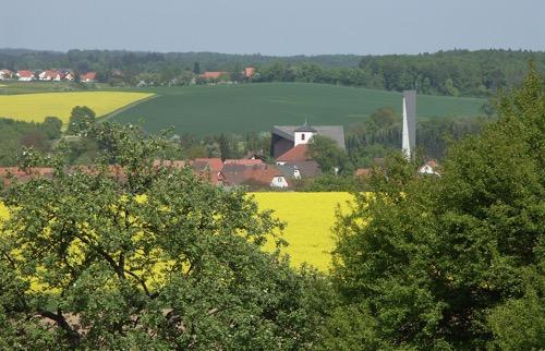 Lohrbach mit beiden Kirchen U Brinkmann
